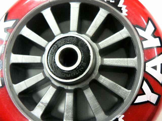 タイヤ 交換 ボード キック キックボードの改造(タイヤ交換)について